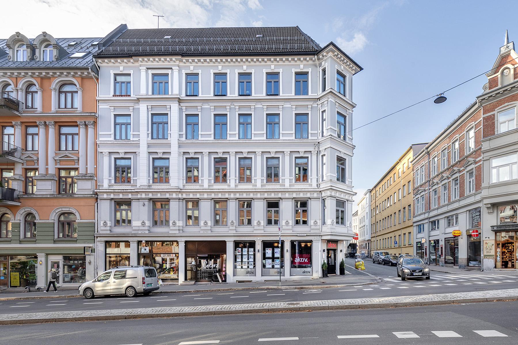 Flott fasade Oslo
